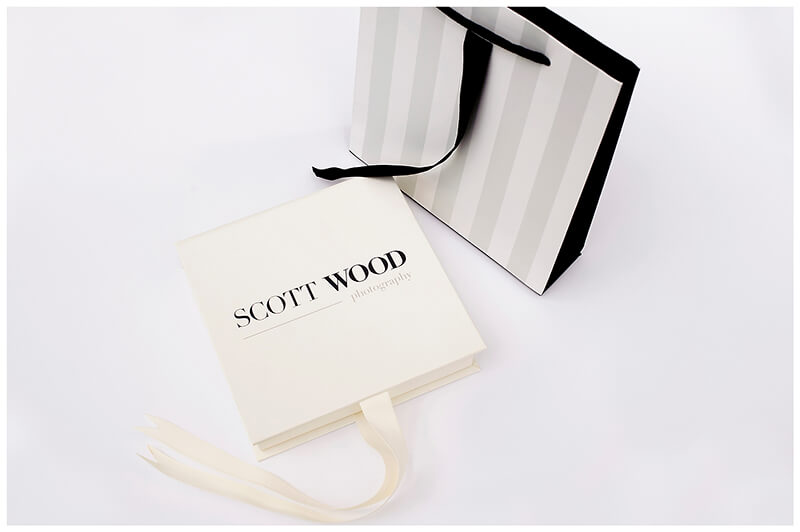 Scott-Wood Photography Branded usb box and presentation bag