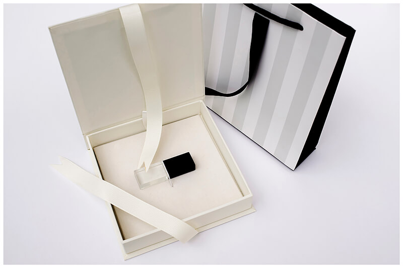 Branded Usb in Presentaion box with bag from Scott-Wood Photography