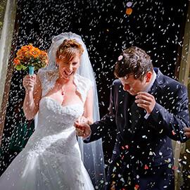 Tuscany wedding photography at Castel di Poggio and Fraternita di Romena
