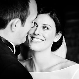 winter wedding of david Colleen at Normanton Church and The George Hotel Stamford