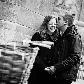 Julian & Catherine Pre wedding shoot cambridge
