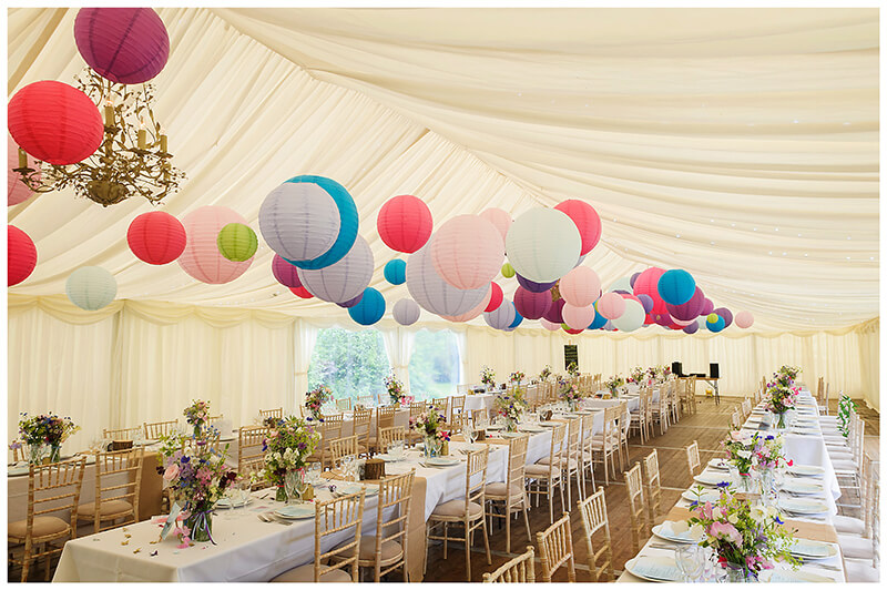 friars Court Wedding venue marquee decoration