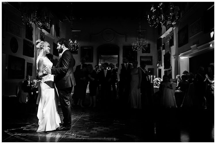 Wentworth Club Surrey Bride groom First Dance