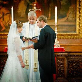 Mike & Marianne Emmanuel College Wedding