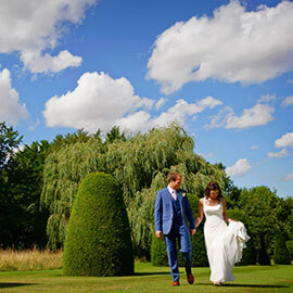 William & Sophie Madingley Hall Wedding