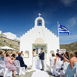 Mykonos Destination Wedding Photography
