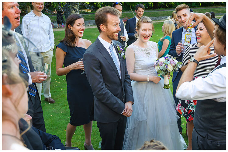 Best Wedding Photography of 2017 a bit of magic amazes the guests and bride and groom