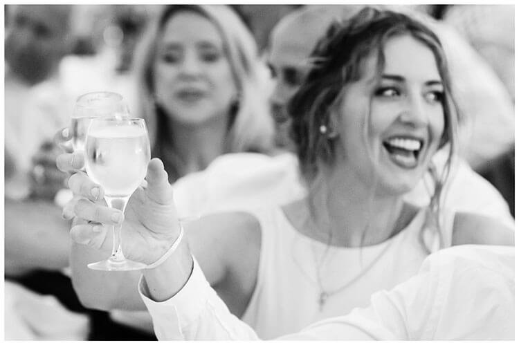 Crishall Cambridgeshire Village wedding cheers