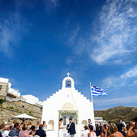 Sam & Stacey Mykonos Wedding