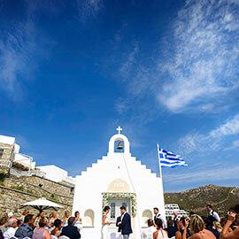 Sam & Stacey Mykonos Wedding