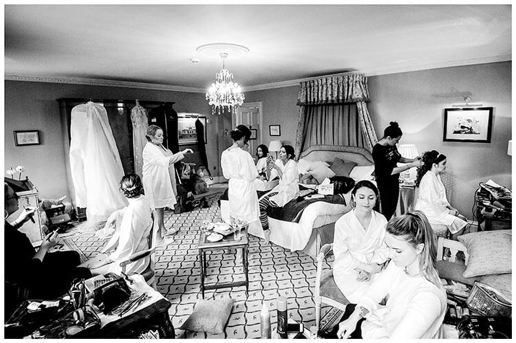 Bridal suite during brides getting ready favourite wedding photography of 2018